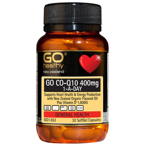 Go Co-Q10 400mg (30)