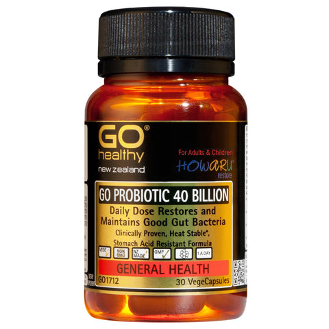 Go Probiotic 40 Billion Capsules (30)