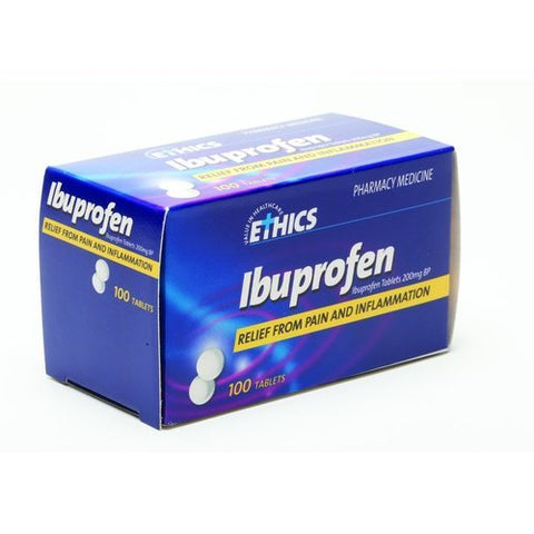Ethics Ibuprofen 200mg (100)