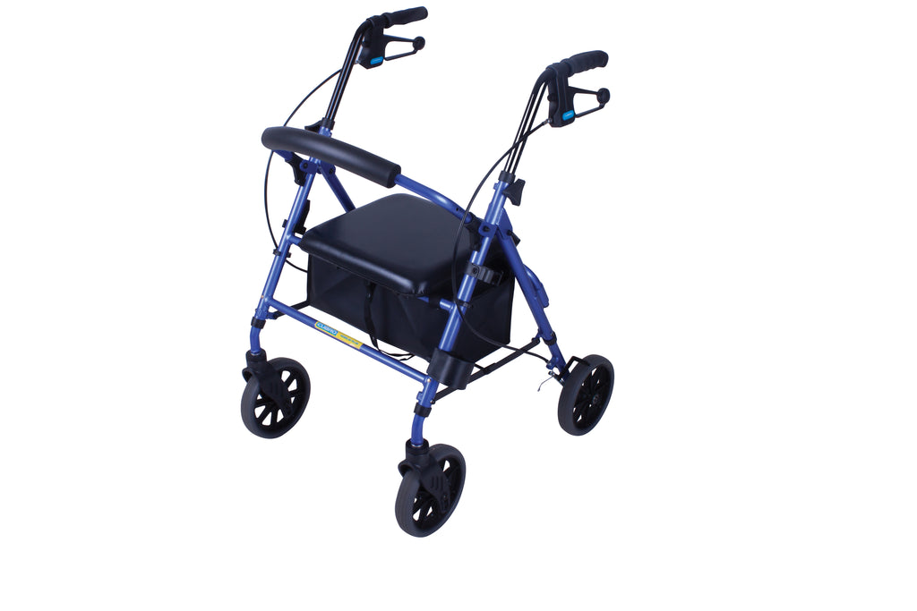 "Mobilis Plus Walking Frame with 8"" wheels"