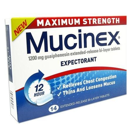 Mucinex Max Strength 1200mg (14)