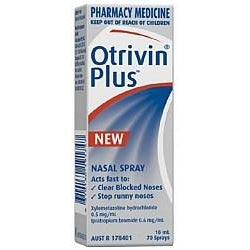Otrivin Plus Nasal Spray