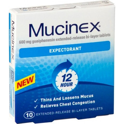 Mucinex SE 600mg Tablets (10)