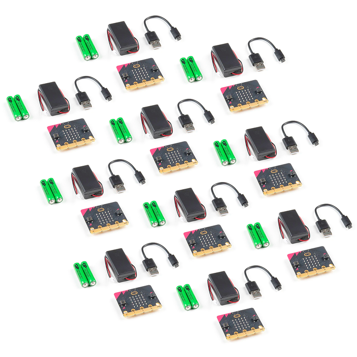 Microbit Club Pack V2 10 Kits Go Bundle