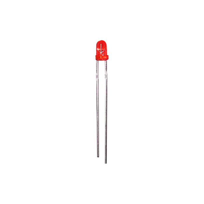 Kit de LED Rojo 3mm - 1000 pzas - 330ohms