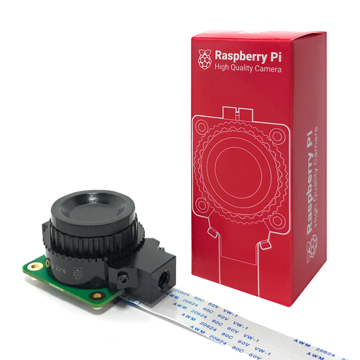 Kit Cámara para Raspberry Pi HQ 12MP - 330ohms