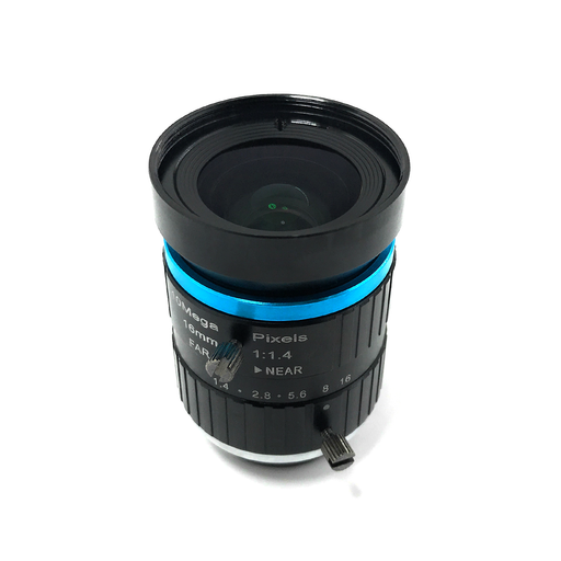 Lente Telephoto 16mm 10MP para Cámara HQ Raspberry Pi - 330ohms