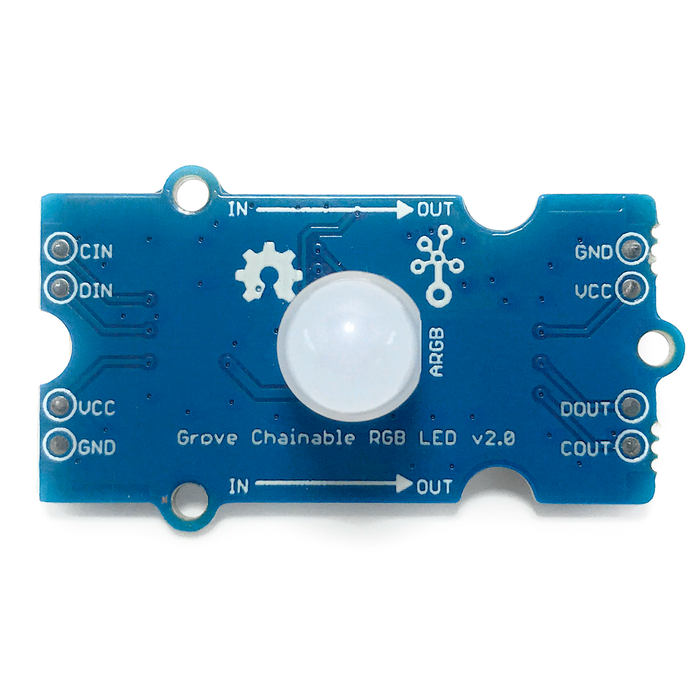 Led RGB con chip P9813S14 - Grove - 330ohms
