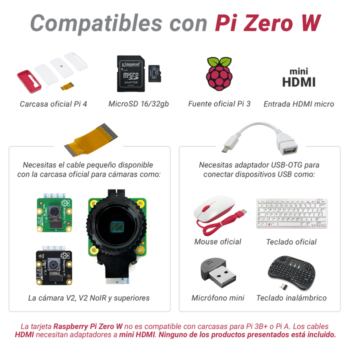 Raspberry Pi Zero W con headers