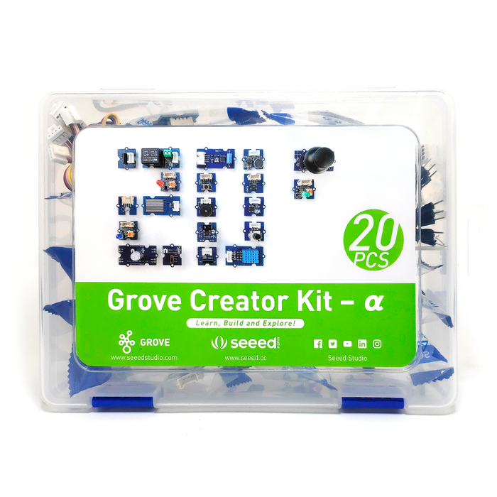 Kit de Sensores 20 en 1 - Grove - 330ohms