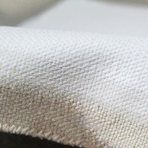 22oz Triple Primed Artist Canvas Roll 1.7m Wide - Rough Texture, Cotton Duck