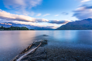 120 x 80cm Large Landscape Canvas Prints - Lake Wakatipu, New Zealand