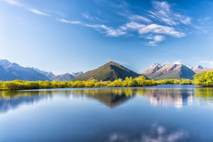 120 x 80cm Large Landscape Canvas Prints - Glenorchy 02, New Zealand