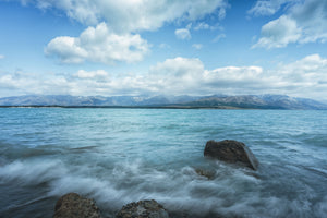 120 x 80cm Large Landscape Canvas Prints - Lake Pukaki, New Zealand