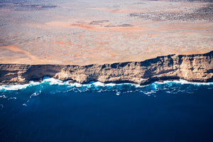 Large Landscape Canvas Prints - Aerial View of Shark Bay, Western Australia