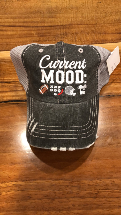 CURRENT MOOD TRUCKER HAT GREY