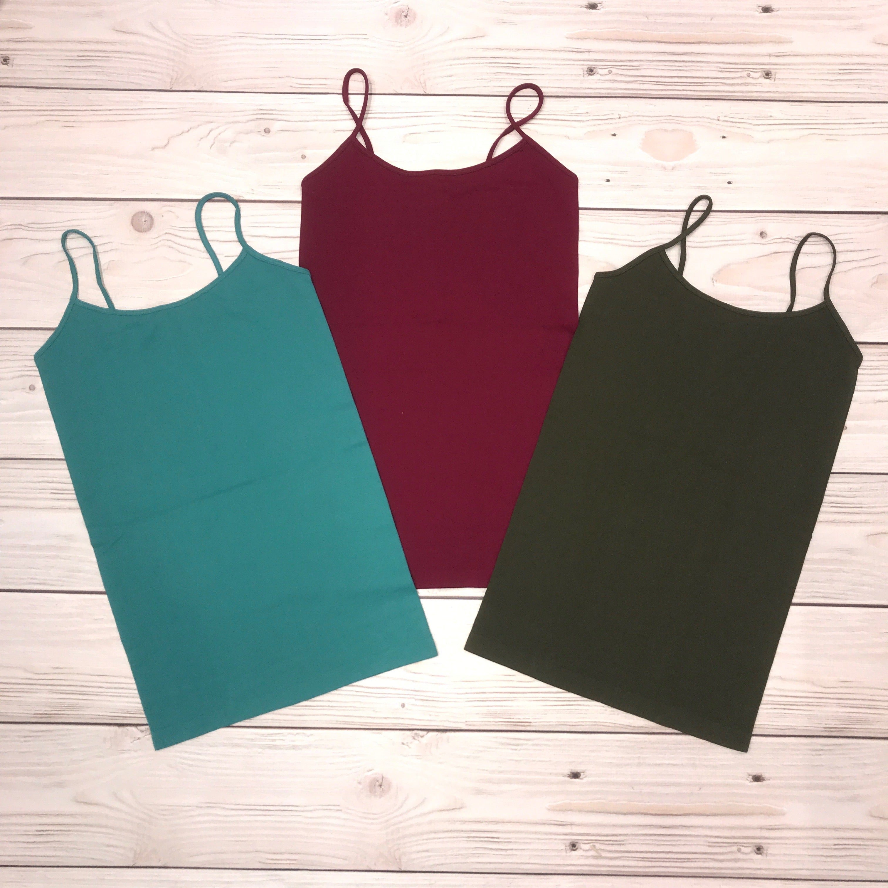 SEAMLESS TUNIC CAMI