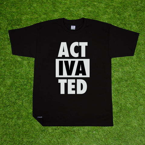 ACTIVATED TEE-BLACK