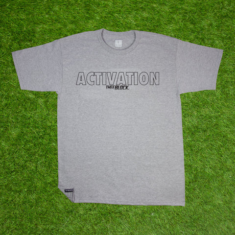 ACTIVATION TEE-HEATHER