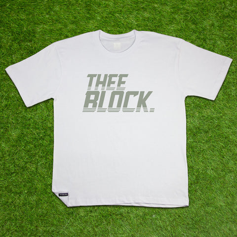 THEE BLOCK OG-WHITE/GREY