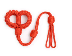 Shibari Red Cotton Rope Wrist Cuffs