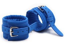 Blue Wrist Restraints