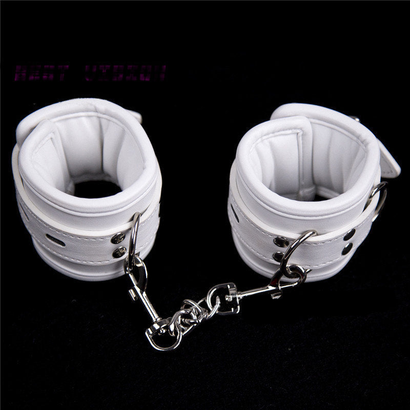 White Ankle Restraints