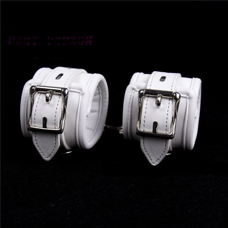 White Wrist Restraints