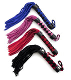 Checked Suede Flogger