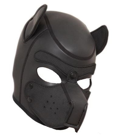 Black Puppy Mask