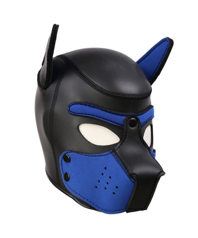 Blue Puppy Mask