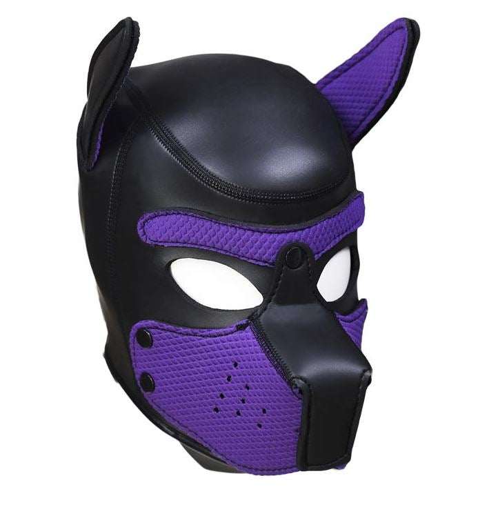 Purple Puppy Mask