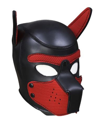 Red Puppy Mask