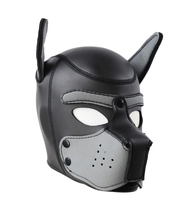 Grey Puppy Mask