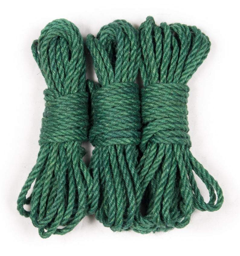 Green Dyed Jute Rope