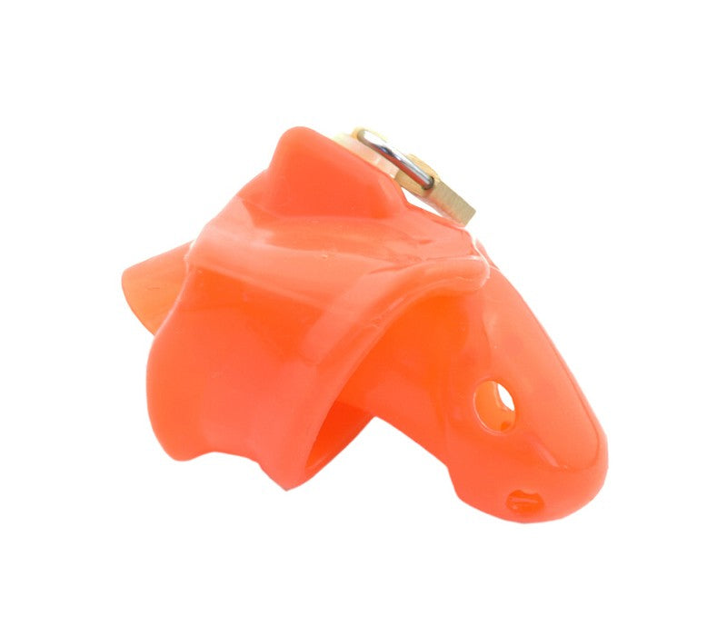 Red SIlicone Barbed Chastity Cock Cage