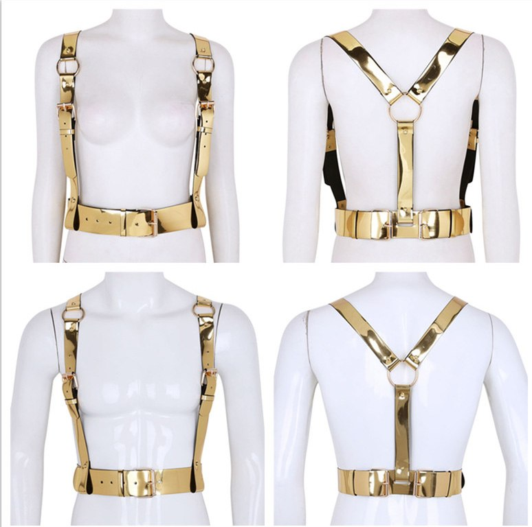 Gold Unisex Harness
