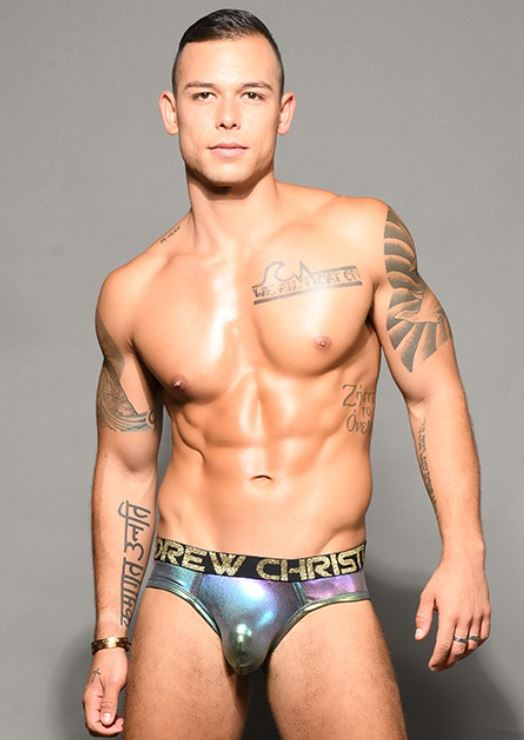Andrew Christian Holographic Brief