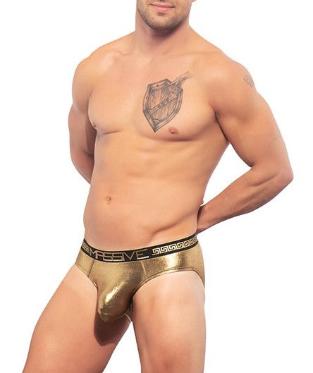 Andrew Christian Gold Massive Brief