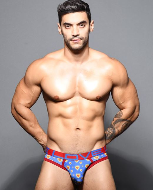 Andrew Christian Pride Heart Jocks