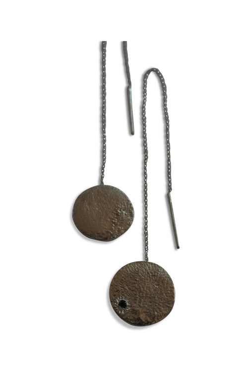 Katie Rose jewellery moon earrings