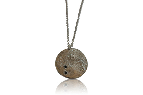 Katie Rose jewellery moon pendant