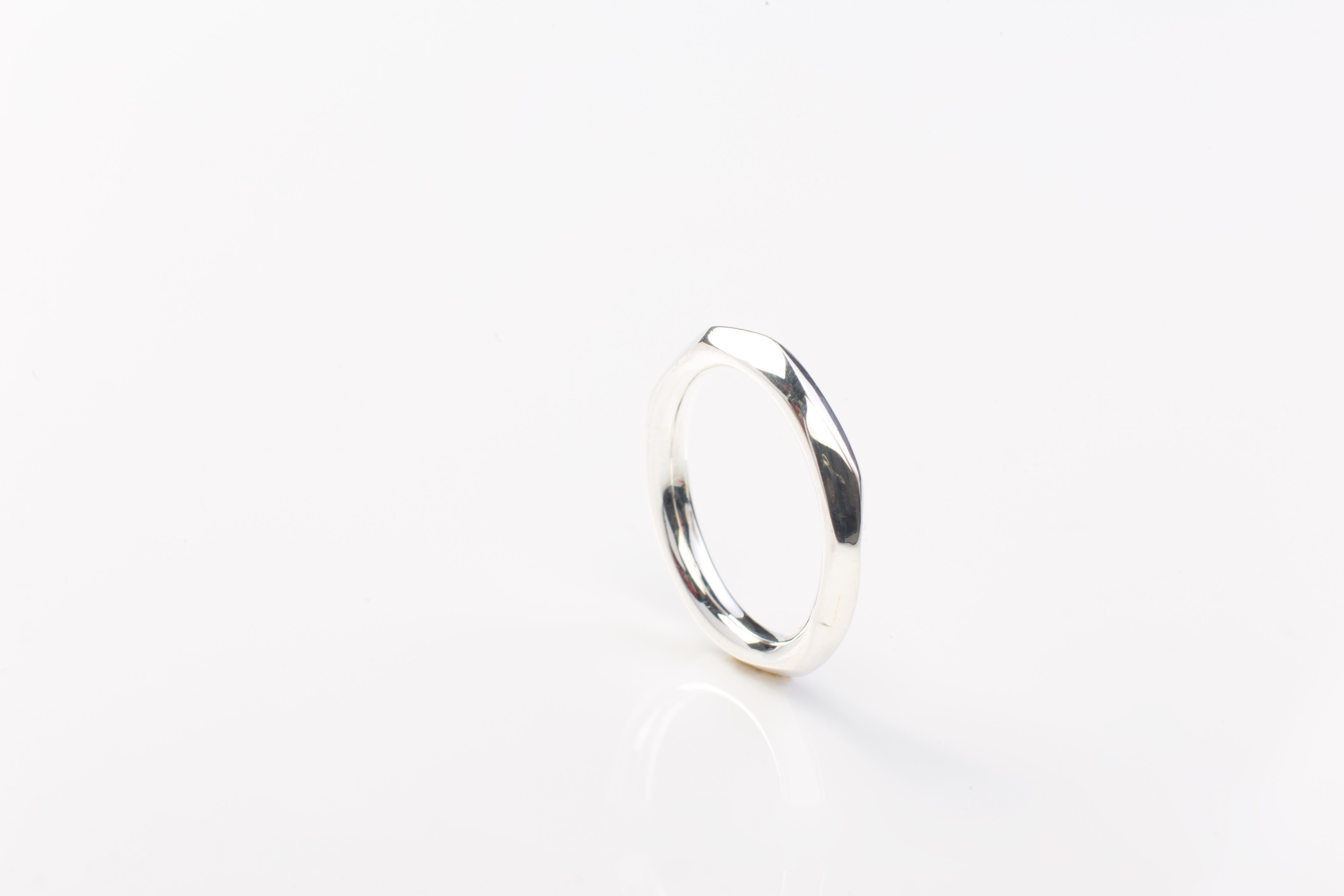 Faceted ring heavy