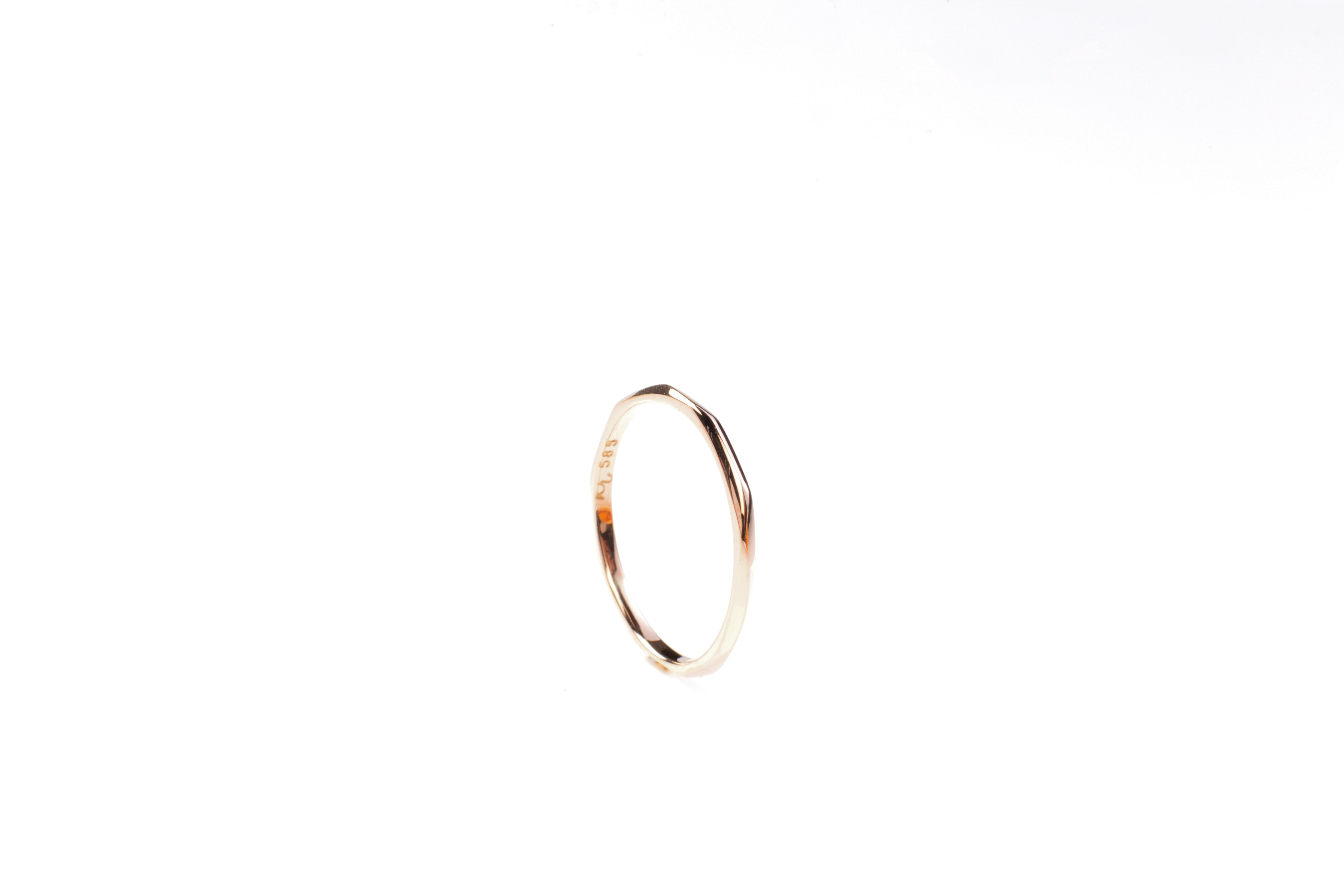 Faceted ring fine