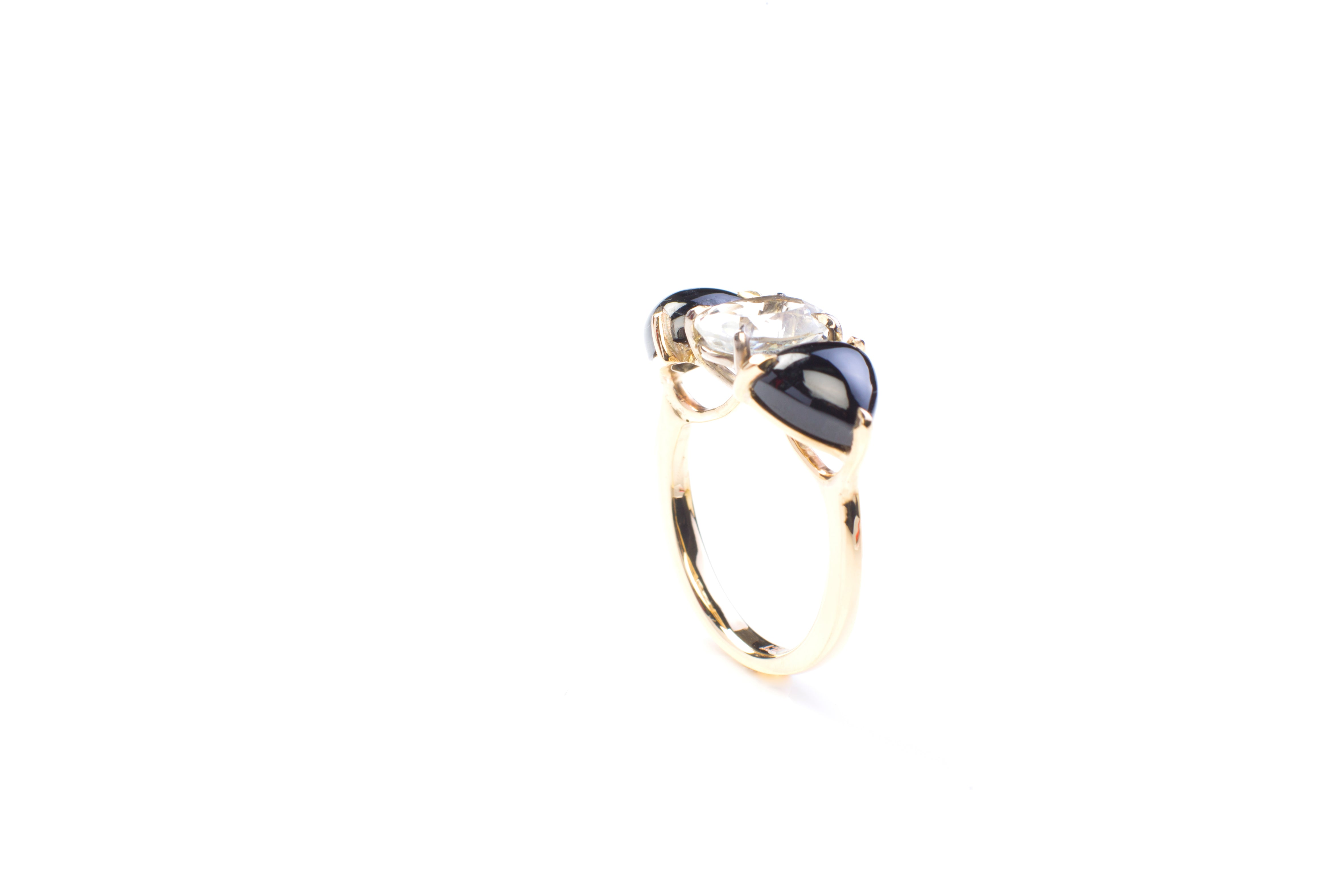 Reptilia cocktail ring