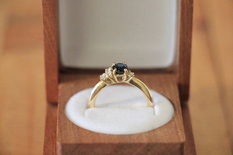 Spinel guardian ring