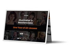 Load image into Gallery viewer, Illustrator's Masterclass Gift Card
