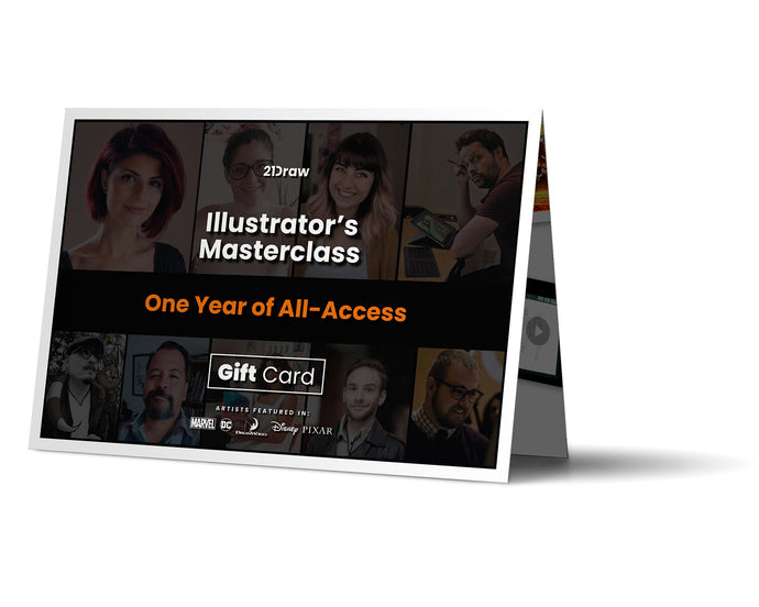 Illustrator's Masterclass Gift Card