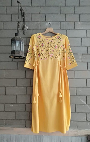 Blossom Handloom Dress