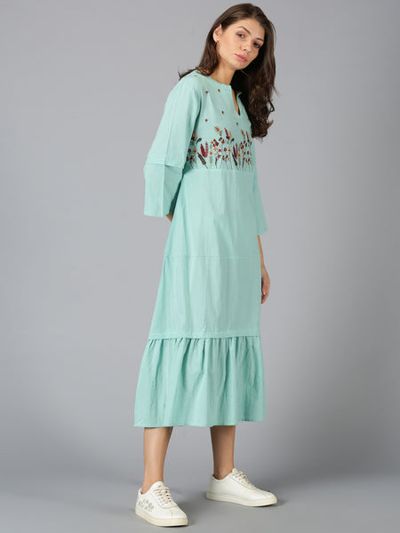 ROAM 205005 Embroidered tunic